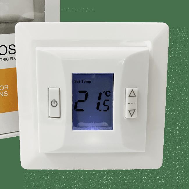 HC10TPM termostat til elgulvvarmestyring fra Heatcom