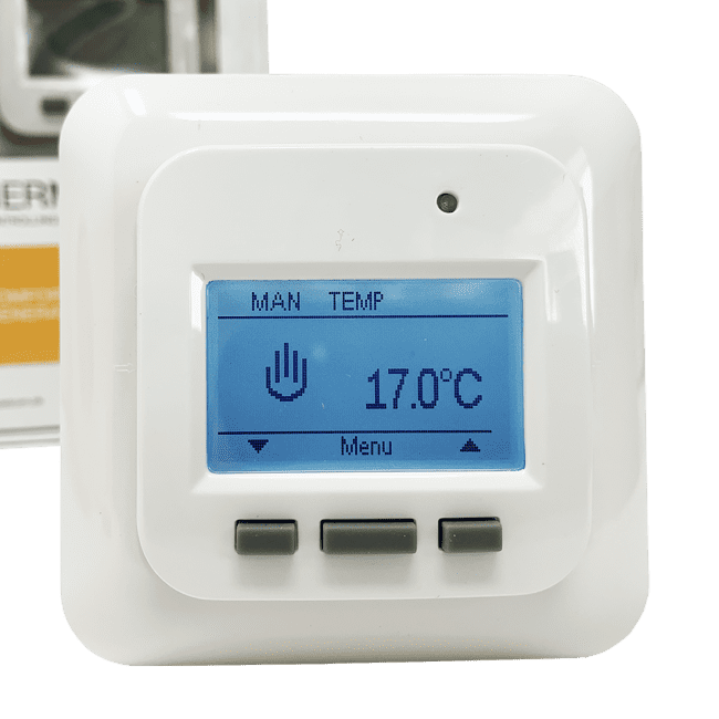 Digital termostat til elgulvvarme