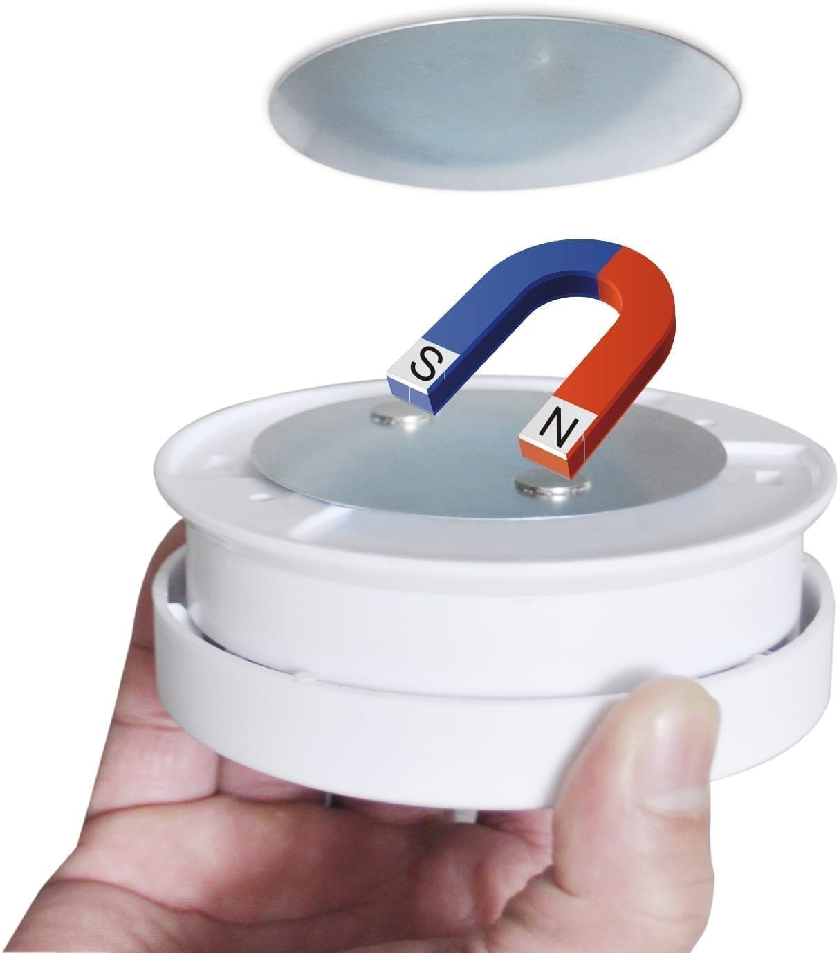 Magnet beslag til røgalarm