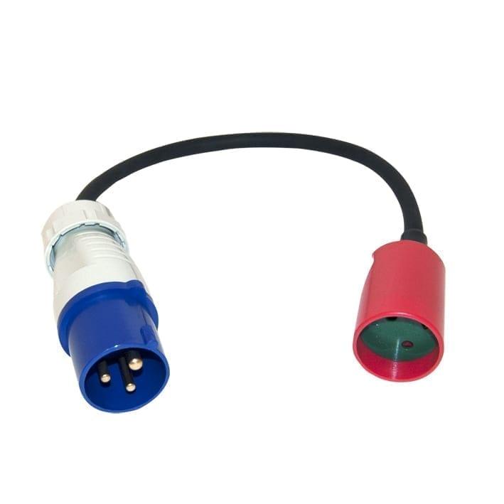 LT Adapter CEE han + hun, 230 V, 33 cm