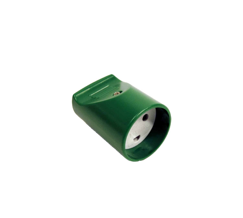 LT Forlængerled med jord, grøn/hvid plast - Indendørs